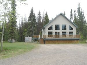 House for sale in Houston BC 5 acres
