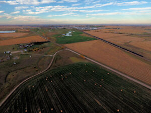 BUY & BUILD or INVEST & HOLD land on doorstep to CROSSFIELD, AB