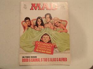 Mad Magazine No. 137 - Sept 1970 - BOOB & CARNAL & TAD & ALAS & Sarnia Sarnia Area image 1