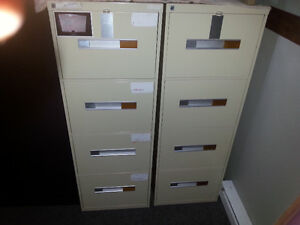Very Good  4-Drawer Vertical File Cabinets