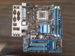 CARTE MAÎTRESSE ASUS SOCKET 755 avec MÉMOIRE DDR3