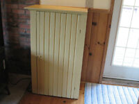 Antique Painted Chimney Cupboard