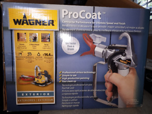 New Wagner Procoat High Performance Airless Sprayer