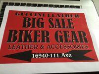 Big Sale - biker season opening soon