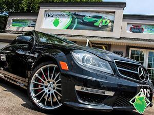 #FoundersDiscount! '12 Mercedes C63 AMG NAV+Roof+MINT! $281/Pmt!
