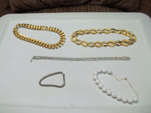 5 Pieces Of Costume Jewelry