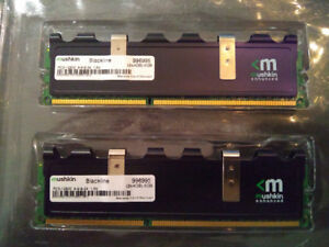 Mushkin Blackline - 8 gb (2 x 4gb) - DDR3-1600 RAM CL9