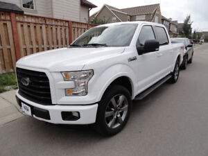 2016 Ford F-150 SuperCrew 4X4 XLT FX-4, one owner, 31500 $39,900