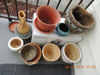 FLOWER POTS AND LOTS MORE FOR THE OUTDOORS