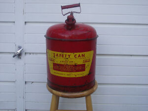 5 Gallon Eagle Safety Gas Can Kingston Kingston Area image 1
