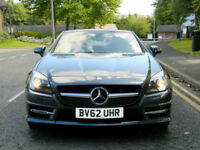 2012 62 Mercedes-Benz SLK250 AMG CDI (204bhp) BlueEFFICIENCY (s/s) 7G-Troni AMG