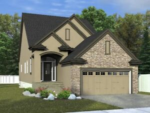 Build Jagare Ridge 1416 Bungalow for $670's backing golf course!