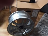 Inter Action 4 alloy wheels brand new 13 x 5.5 with bolts offset 38 hole spacing 4x100 set 4 boxed