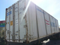 Two 40' HC Reefer Shipping Containers in need of Minor Work