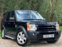 2006 LAND ROVER DISCOVERY 3 2.7TD HSE AUTOMAIC DIESEL 5 DOOR SUV 7 SEATS