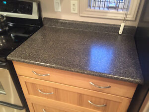kitcken island and counter tops