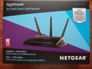 WiFi Router, Cable Modem, HDTV indoor antenna