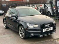 13 2013 Audi A1 Black Edition 2.0 TDI 140 Diesel 3dr Panoramic Sunroof Hatchback
