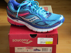 "NEW!  Girls/Ladies ""Saucony Guide"" Shoes - Size 7 Girls/6 Womens"