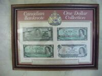 FOR SALE 4 BANK NOTES PLUST CERTICATE.