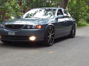 2005 Lincoln LS Moderne muscle car Berline