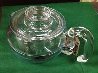 Vintage Pyrex Teapot or Milk saucepan