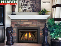 Blowout sale at Hearth Fireplace Depot.