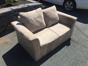 Free loveseat out on curb