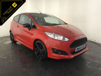 2015 65 FORD FIESTA ZETEC S RED EDITION 1 OWNER SERVICE HISTORY FINANCE PX