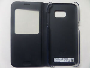 Samsung Galaxy S7 S-View Flip Cover Phone Case, Black Kitchener / Waterloo Kitchener Area image 2