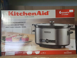 Brand new Kitchen Aide Slow cooker