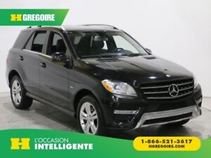 2012 Mercedes Benz ML350 ML 350 BlueTEC