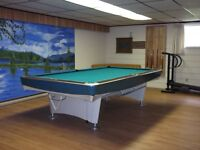 Pool Table 5 by 9 ft - Slate