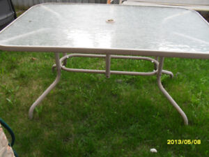 "Patio table 36"" X 61"""