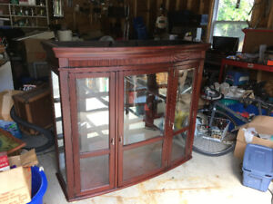 China Cabinet Top Section