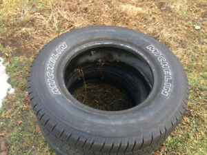 4×18 inch Michelin tires