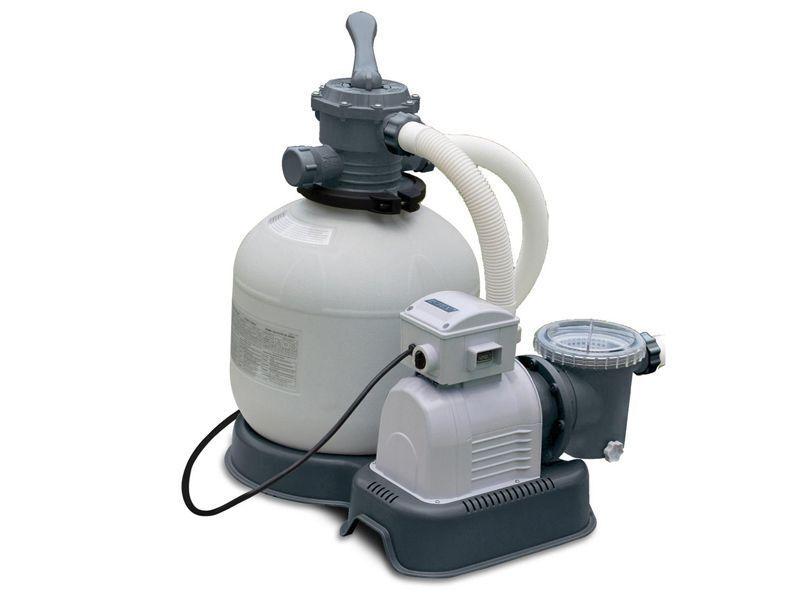 Pompa filtro a sabbia Intex 28646 7900 L/H A 6 vie per piscina fuori terra Rotex
