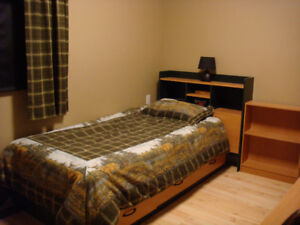 Twin Bed Furniture and desk 5 pieces