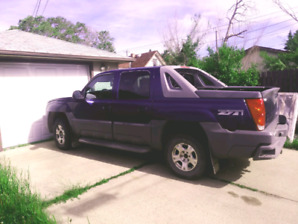Chevy avalanche Sask registered