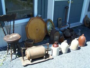 TOOLS PUMP ANTIQUE VAC. PIANO CHAIR AND MORE JUST IN
