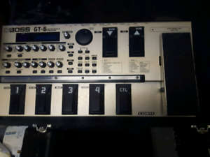 Guitar effects processor