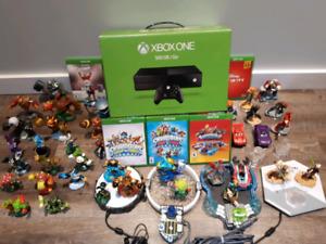 Xbox one avec jeux skylanders et disney infinity