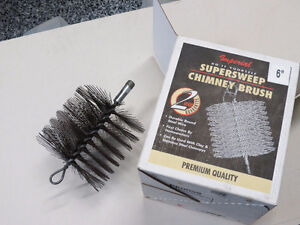 Chimney Cleaning Brush  - wire, 6 inch