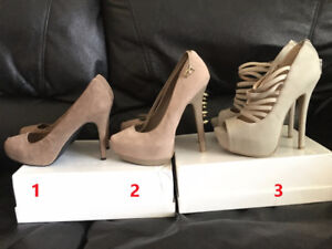 Heels for sale (New / Mint condition ) size 7