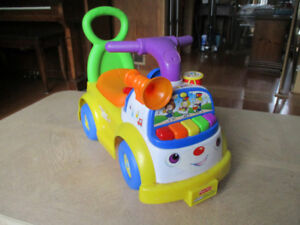 Fisher Price Little People Music Parade Ride-On Car
