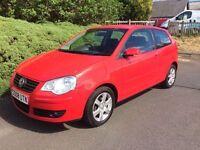 2008 VW POLO MATCH 1.4 TDI, 1 YEAR MOT, SERVICE HISTORY, WARRANTY