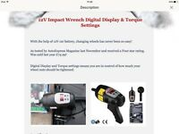 12v car/ mechanic impact wrench