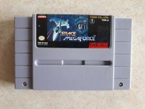 Space Megaforce Super Nintendo Super Nes SNES