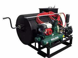 300 Gallon Air Operated Sealcoating Spray System Equipment