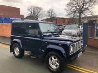 2001 Land Rover 90 Defender 2.5 Td5 Hard Top OSLO BLUE!